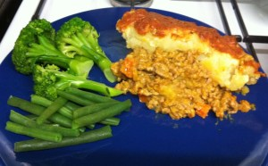 Red Curry Cottage Pie