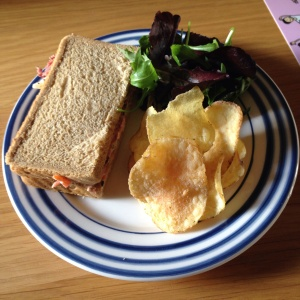 Sandwich and Crisps
