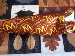 Magnum almond and milk choc