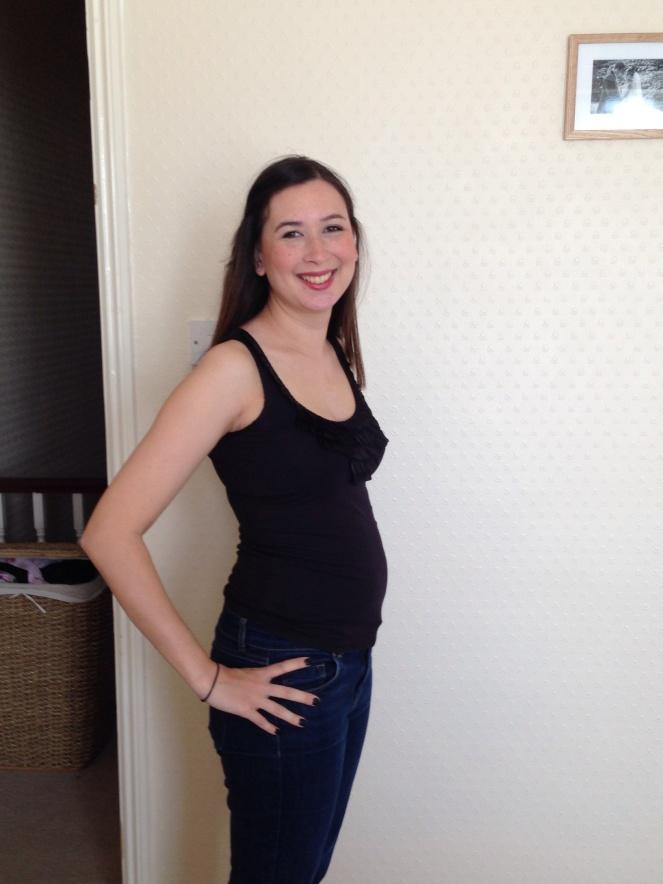 15 weeks pregnant