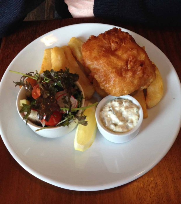 Beer Battered Hake