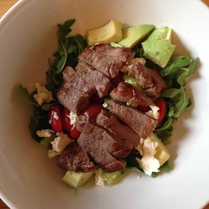 Lamb Steak Salad