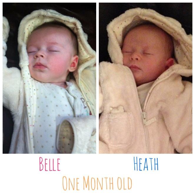 One month postpartum