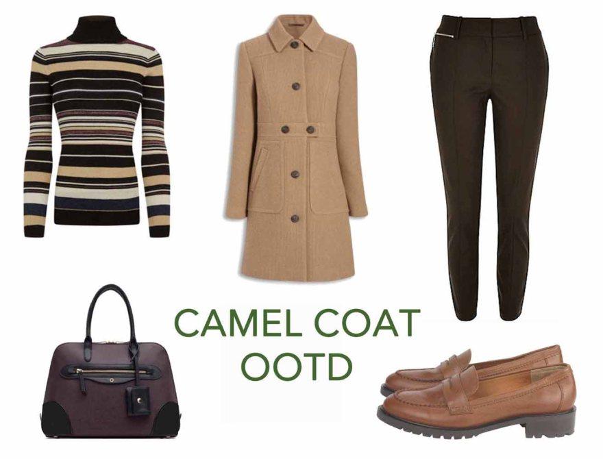 Camel Coat OOTD