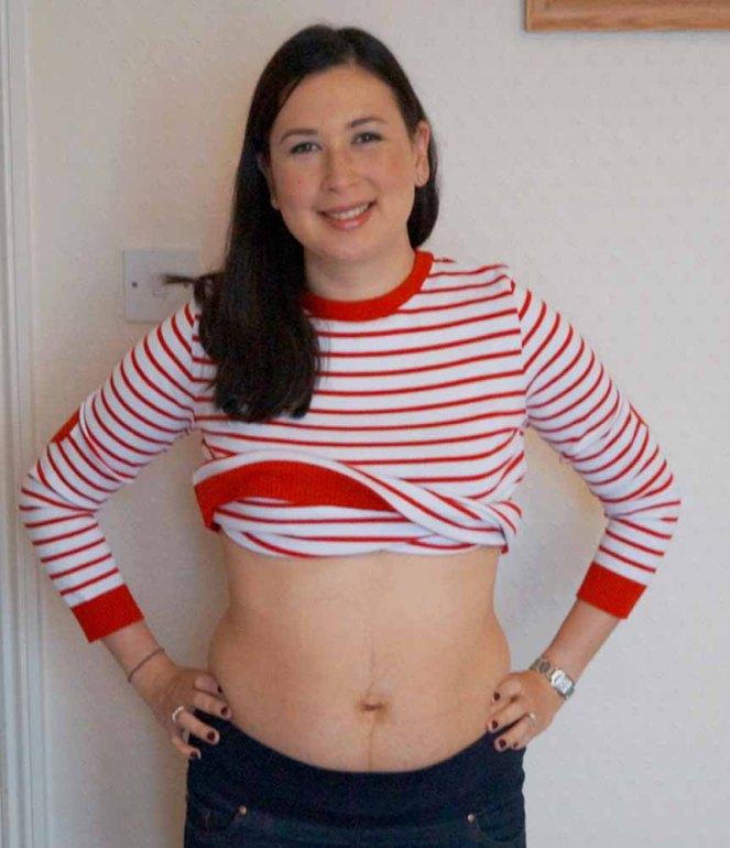 2 Months Postpartum Front