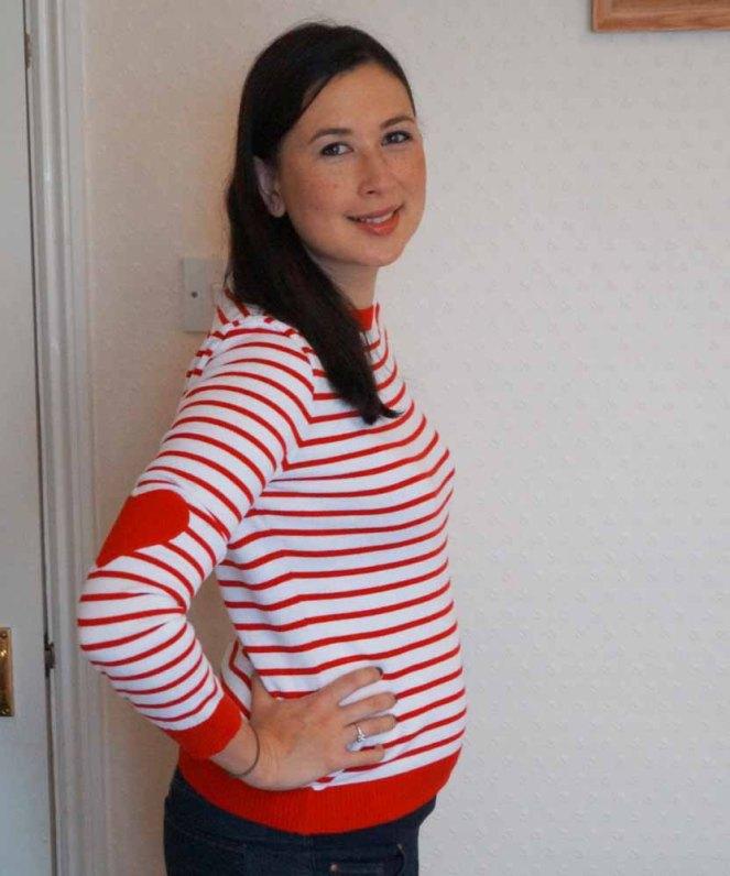 2 Months Postpartum Side