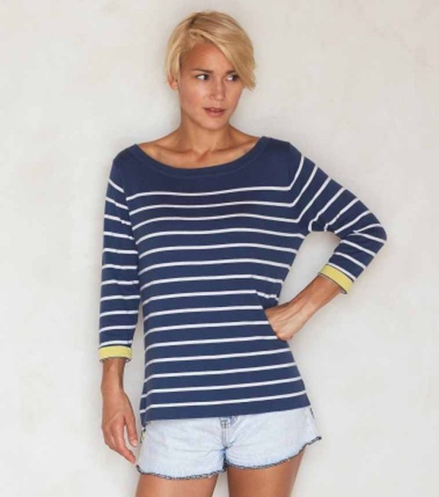 Woolovers Breton Top